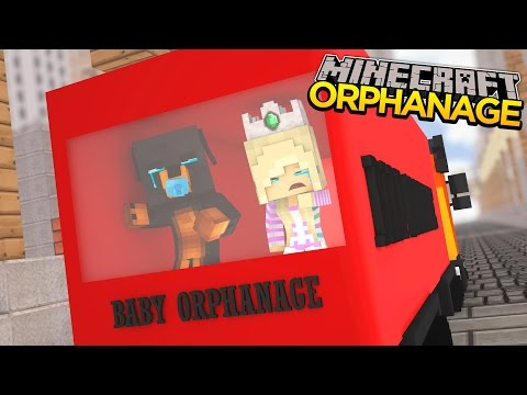 Minecraft - Donut the Dog Adventures -BABY MAX IS PUT INTO AN ORPHANAGE!!!!