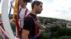 Saut à l'elastique à Morsang sur Orge, Julien avec 'Une Idée En l'Air...'