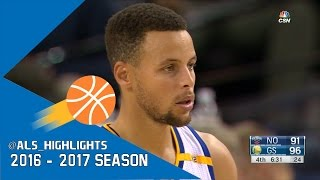 Stephen Curry Full Highlights 2016.11.07 vs Pelicans - 46 Pts, UNREAL NBA Record 13 Threes!