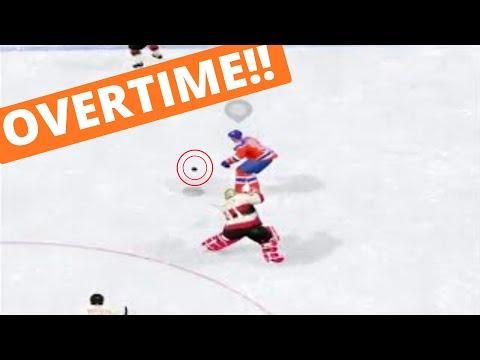 GOALIE GOAL in OVERTIME  (NHL 16 Clips)