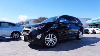 2018 Chevrolet Equinox Premier AWD (1.5T/6AT) | Review