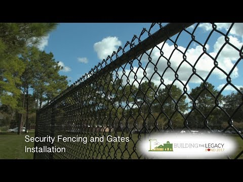 Bond 2017: ​Security Fencing and Gates