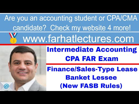 Finance Lease: Lessee's Perspective | Intermediate Accounting | CPA Exam FAR