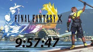 FFX Speedrun (9:57:47) WR PS4