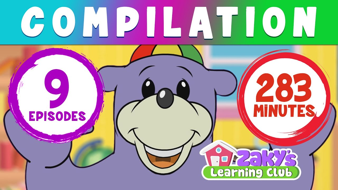 Download Zaky's Learning Club HUGE Compilation - Episodes 1 to 9