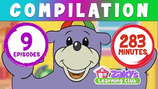 Zaky's Learning Club HUGE Compilation - Episodes 1 to 9