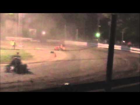 Chris Stockham Starlite Speedway Flip