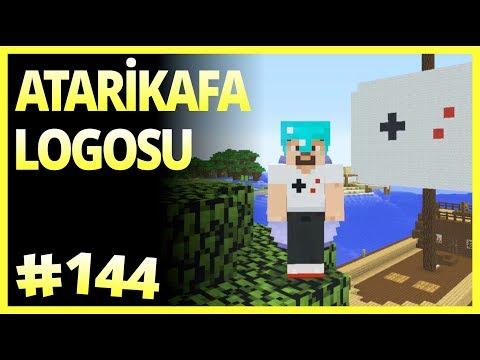ATARİKAFA LOGOSU  - Minecraft Türkçe Survival - Bölüm 144