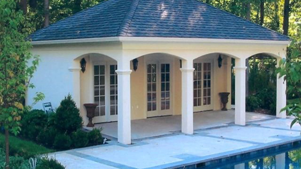 Pool Cabana Design Ideas - YouTube