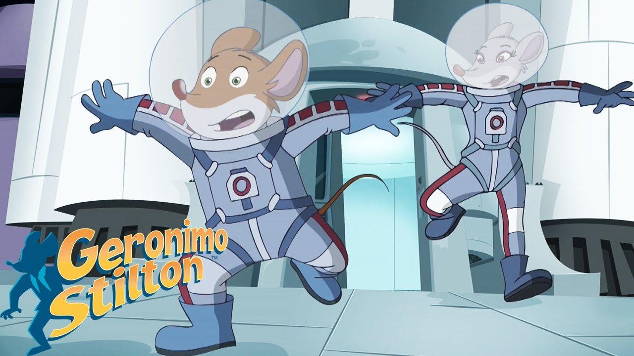 Geronimo Stilton  Geronimo Stilton Space Adventure  Videos For Kids - YouTube