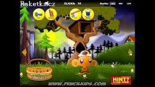 Monkey Go Happy - Mini Monkeys návod - Walkthrough