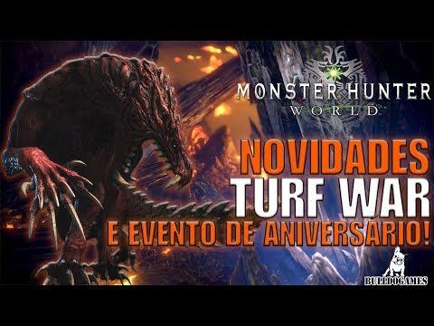 Monster Hunter World - ANIVERSÁRIO DE 15 ANOS E RESULTADOS DA TURF WAR! thumbnail
