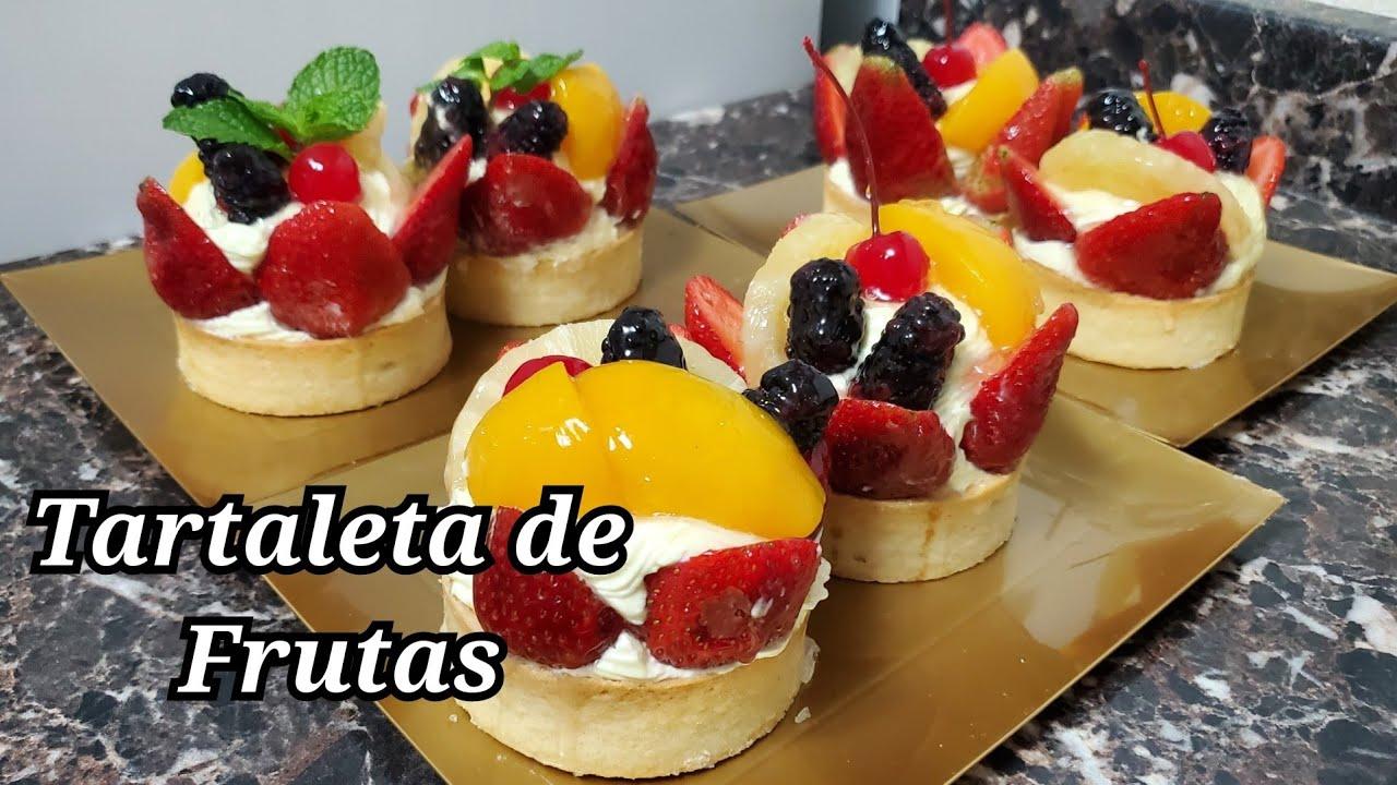 Tartaleta de frutas (receta relleno)