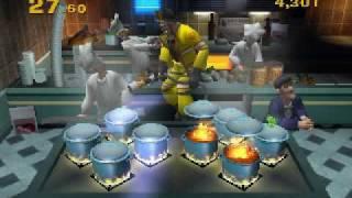 Emergency Mayhem Xbox - Cooker Blaster minigame