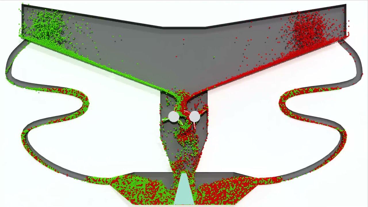 Particle Simulation #95 : Piston