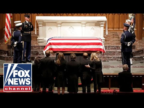 George H.W. Bush's funeral service at St. Martin's Episcopal