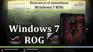 Windows 7 ROG x64 SP1 Rampage 2013 Fan ASUS   republic of gamers