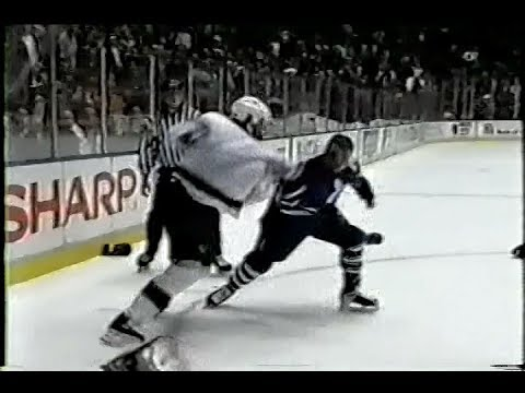 Matt Johnson vs Tie Domi Round 2