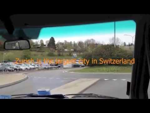Zurich Switzerland heading to the Hilton Airport Zurich