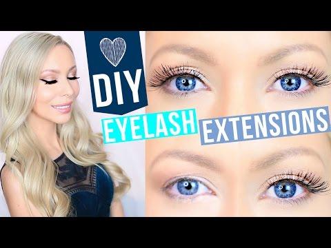 DIY Eyelash Extensions!