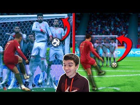 GOLAÇOS QUE FORAM RECRIADOS NO FIFA 19!!! NÃO SEI NEM QUAL É O VERDADEIRO!!!!