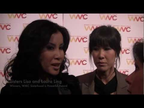 Lisa & Laura Ling, Carol Jenkins and Robin Morgan | Women's Media Center 2012 Awards