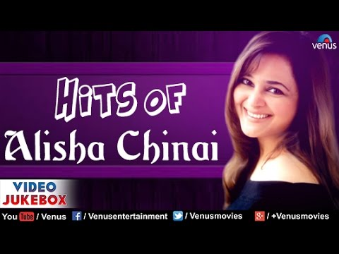 Hits Of Alisha Chinai : Best Hindi Songs || Video Jukebox