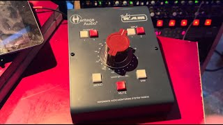 Review of Heritage Audio Baby Ram passive monitor controller