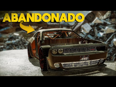 encontrei-o-dodge-challenger-no-ferro-velho,-vai-ficar-top---car-mechanic-simulator-2018