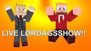 LIVE LØRDAGSSHOWSTREAM!! (ferdig! :) )