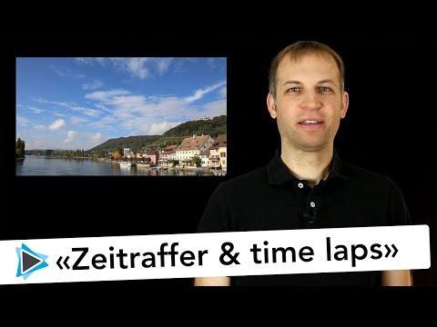 Pinnacle Studio 20 Deutsch Zeitraffer Time Laps Aufnahme DSLR Controller APP Video Tutorial