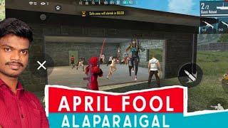Free Fire April Fool Alaparaigal Tricks Tamil - Comedy Video Free Fire ||PVS🇮🇳