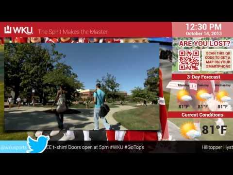 EYECONIC.TV - Digital Signage Demo for Education - WKU Western Kentucky University