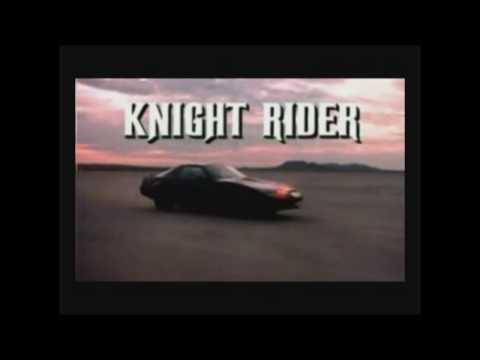 Night Rider (El Auto Fantastico) - (Techno remix) (Vj Karnal video edit)