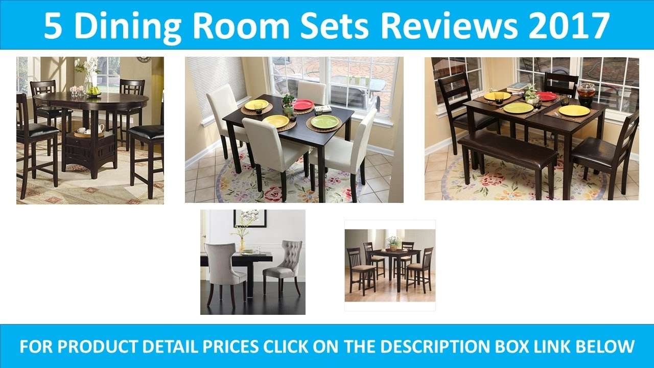5 Best Dining Room Sets 2017 YouTube