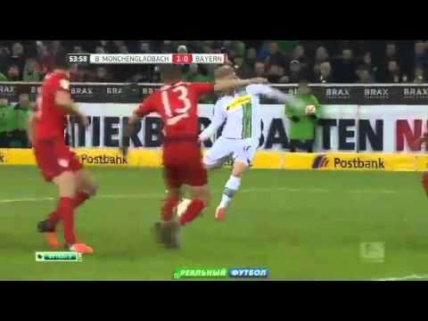 Borussia Moenchengladbach 3:1  Munich Bavaria (FC Bayern Munchen) All Goals Match Review  05-12-2015
