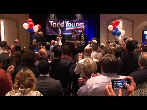Todd Young victory speech