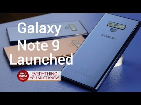 Galaxy Note 9 launched - Specs, features and India price