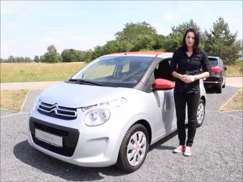 new citroen c1 airscape 2014 german youtube. Black Bedroom Furniture Sets. Home Design Ideas