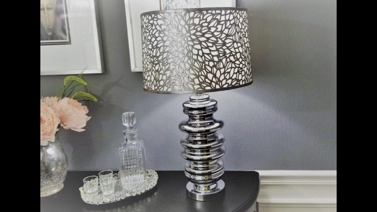 Lampshade Upgrade Using Placemats