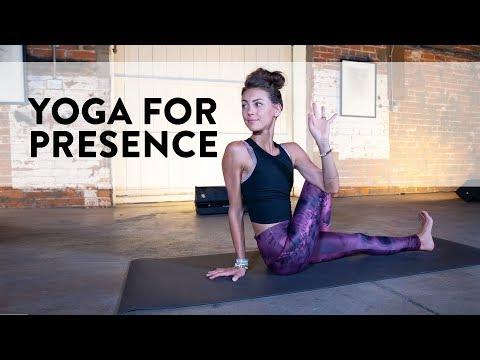 YOGA FOR PRESENCE - Full 40-Minute Yoga Class with Ashton August