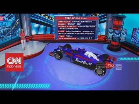 Mobil Balap F1 Sean Gelael, Toro Rosso STR12