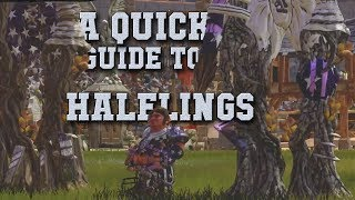 Quick guide to Halflings! Starting rosters, advice on skills, tips & tricks (Blood Bowl 2-the Sage)