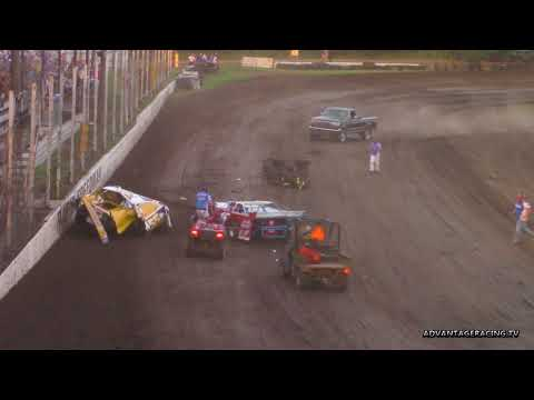 Big Trouble on the Frontstretch - Rapid Speedway - 6/15/18
