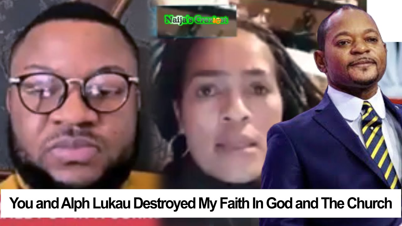 You & Pastor Alph Lukau Destroyed My Faith In Jesus And Humans,Lady Exposes Jay Israel