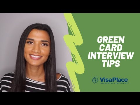 How to Pass Your Green Card Interview: Tips & Advice - YouTube