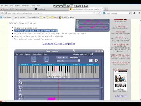 Voice To Instrument Turn your Voice Into Musical Instrument Voice band alternative.
