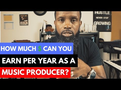 HOW MUCH MONEY CAN YOU EARN AS A MUSIC PRODUCER PER YEAR? 💰