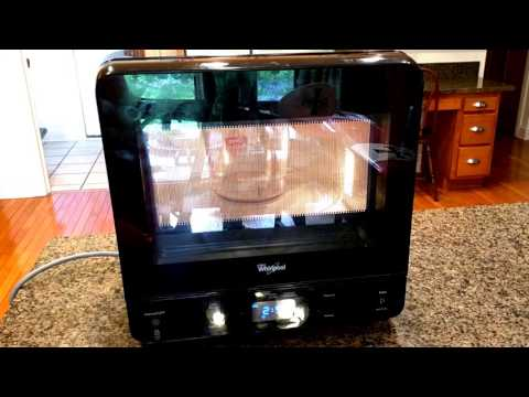SMALLEST PROFILE Countertop Microwave - 5 star rating! REVIEW