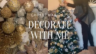 DECORATE WITH ME | CHRISTMAS TREE DECOR